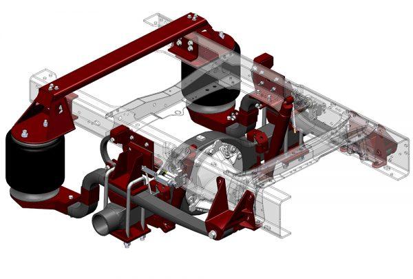 ServiceMaster Suspension – MODEL RD1370F8