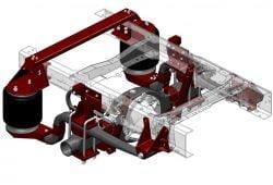 ServiceMaster Suspension - MODEL RD1370F8
