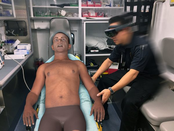 PerSim®, the holographic patient assessment simulation system