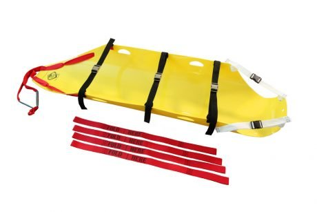 COMPLETE HMH Sked® RESCUE SYSTEM with strap kit (Assembled & Rolled) 4
