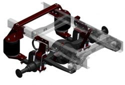 ServiceMaster Suspension – MODEL RD1350D